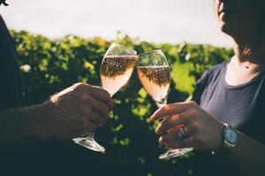 Champagne rosé Brimont & Fils